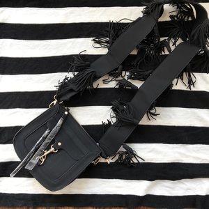 NWOT Fringe crossbody bag